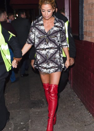 Katie Price at The Nightingale Club in Birmingham