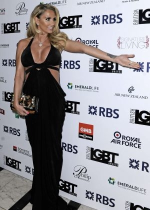 Katie Price - British LGBT Awards 2016 in London