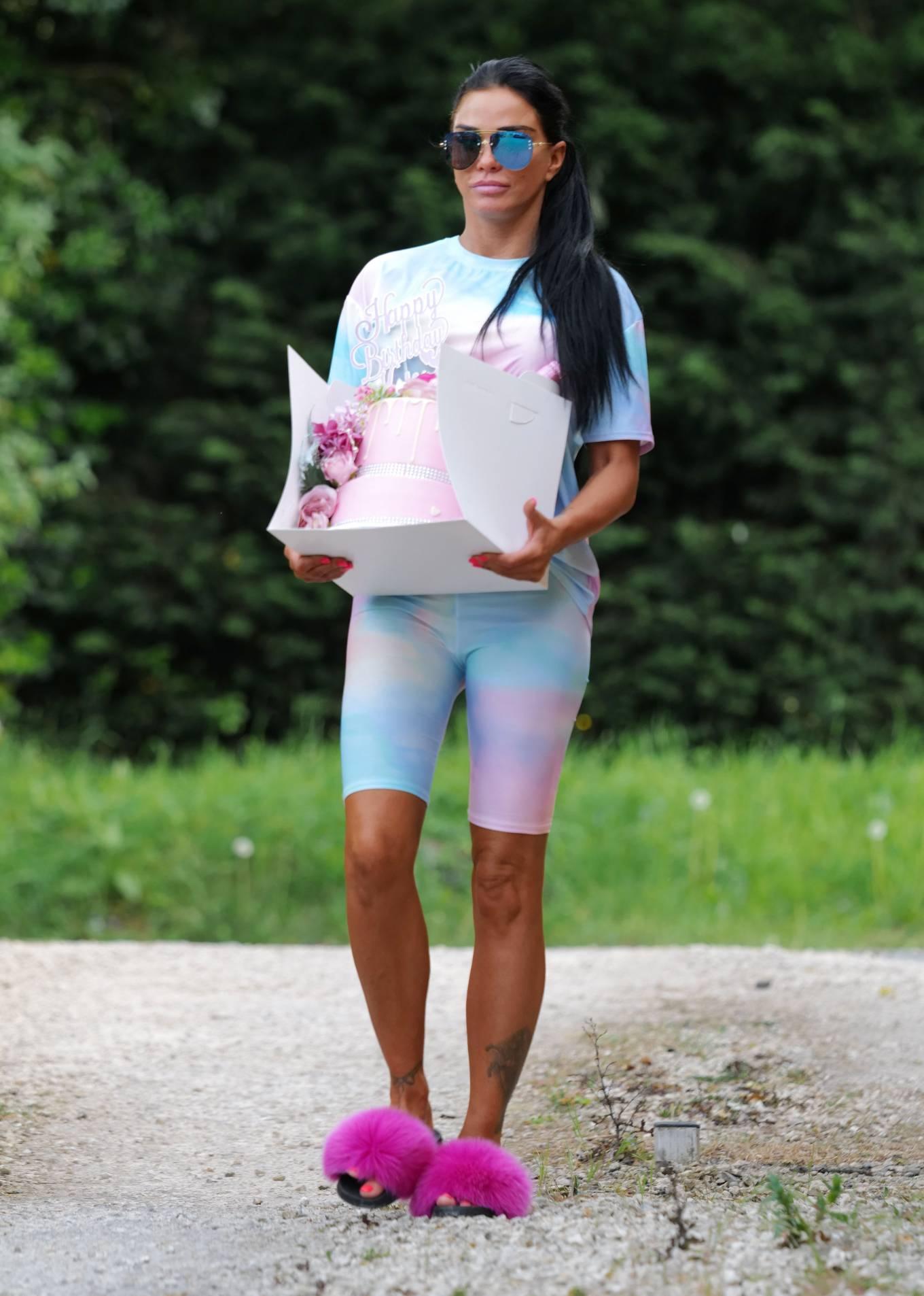 Katie Price - Celebrates Her Birthday in Essex