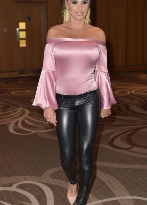 Katie Price - Hosts an Evening with Event in Newcastle