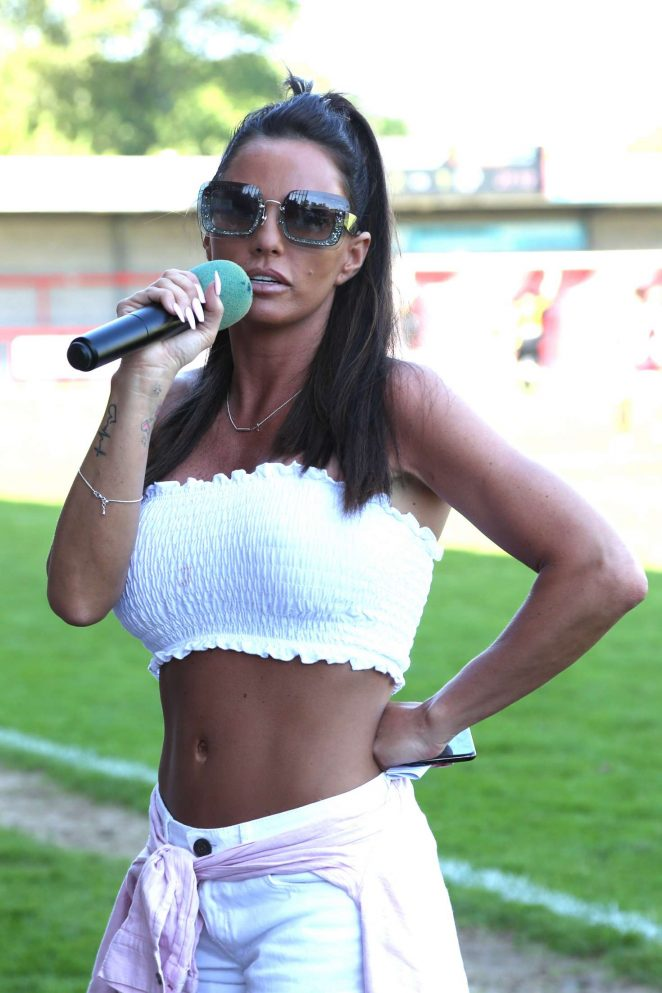 Katie Price – Just 4 Children Charity Football Match in West Sussex