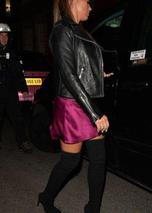 Katie Price - Leaving Annabel's in Mayfair
