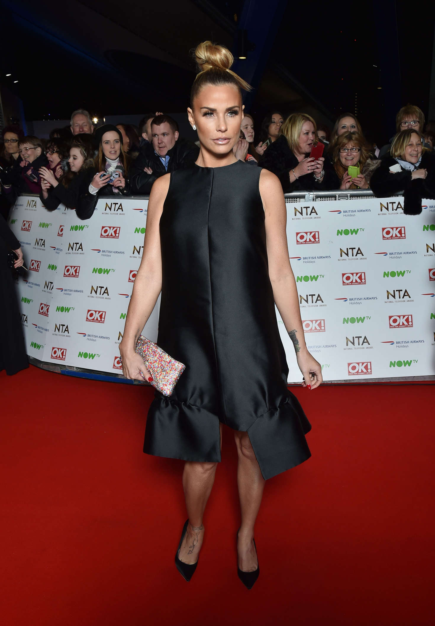 Katie Price - National Television Awards 2016 in London