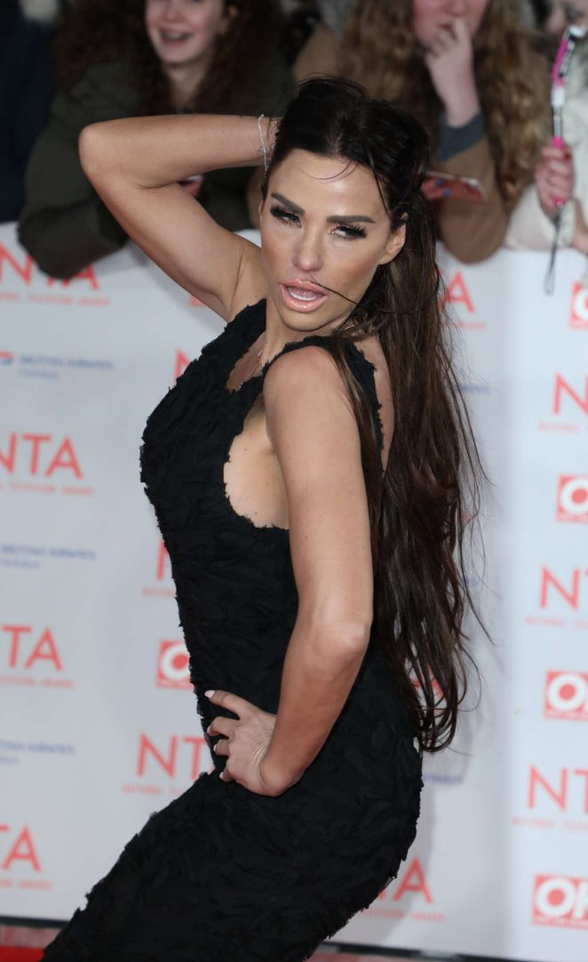 Katie Price - National Television Awards 2018 in London