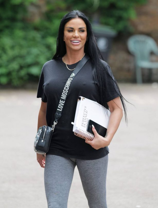 Katie Price - Out for a business meeting in Essex