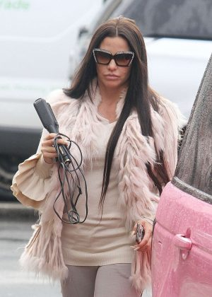 Katie Price - Out in Worthington