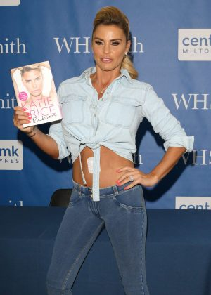 Katie Price - Reborn Book Signing at WH Smith in Buckinghamshire