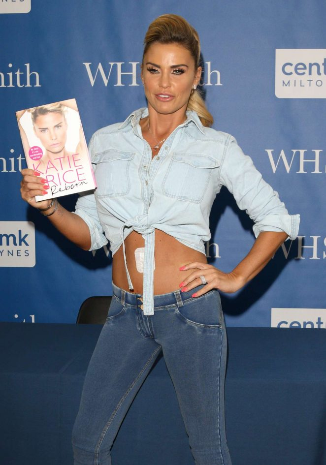 Katie Price – Reborn Book Signing at WH Smith in Buckinghamshire