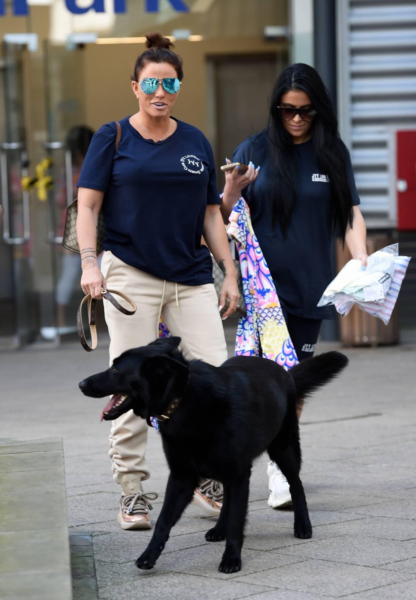 Katie Price 2021 : Katie Price – Seen arriving at Leeds Dock TV Studios -13