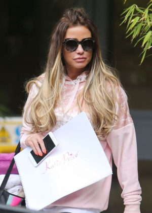 Katie Price - Seen at ITV Studios In London