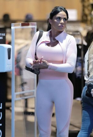 Katie Price - Shopping candids in Kent