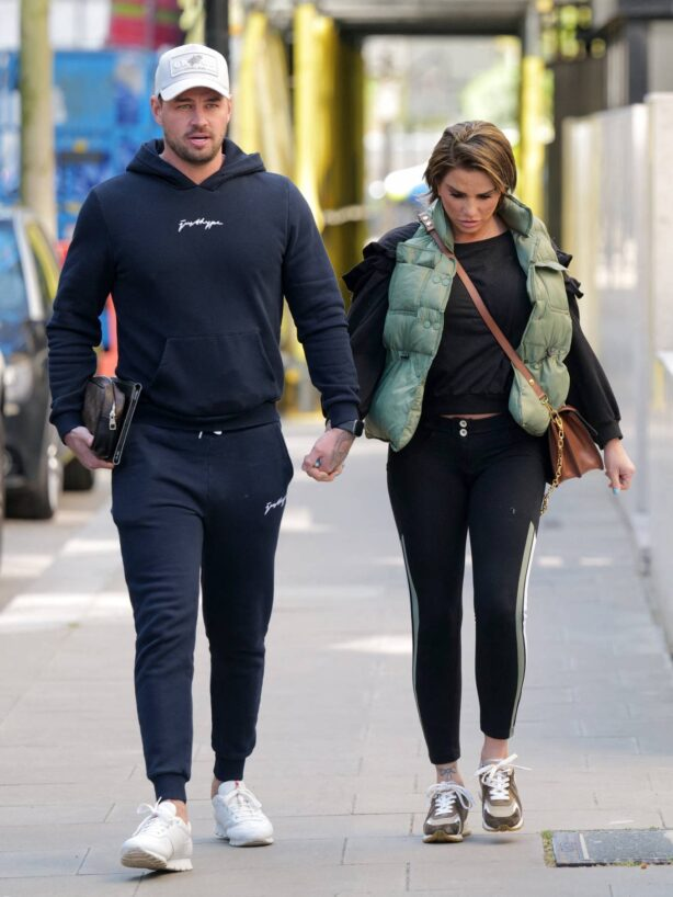 Katie Price - Steps out in London