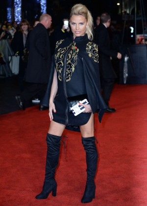 Katie Price - 'The Hunger Games: Mockingjay' Part 2 Premiere in London