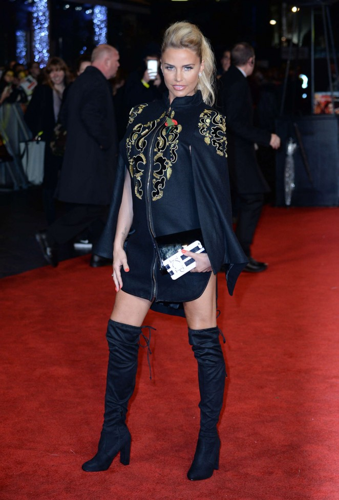 Katie Price – 'The Hunger Games: Mockingjay' Part 2 Premiere in London