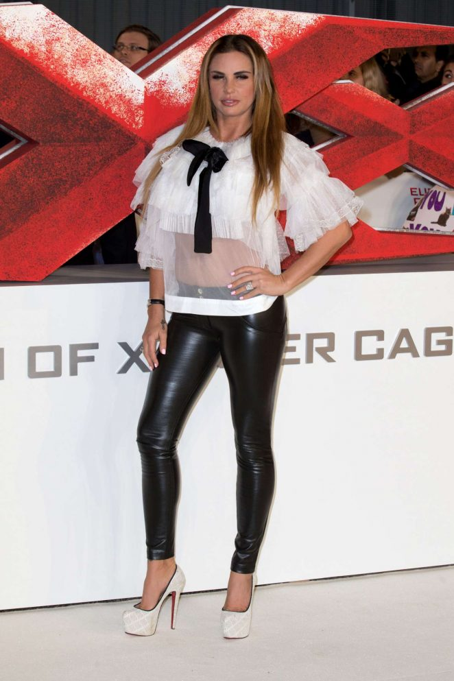 Katie Price - 'xXx': Return of Xander Cage' Premiere in London