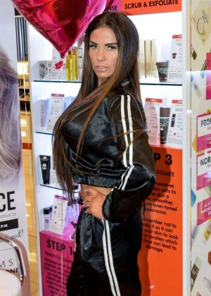 Katie Price - Zero Skin Launch in Cardiff