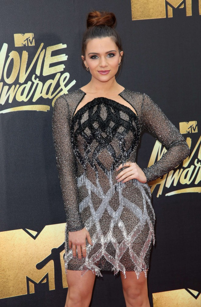Katie Stevens – 2016 MTV Movie Awards in Burbank
