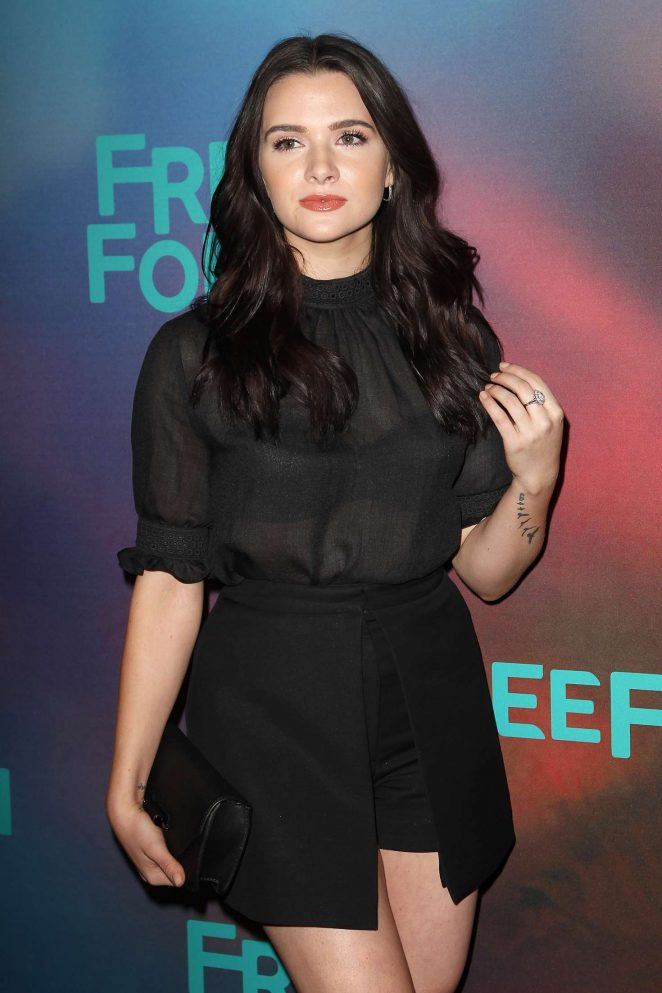 Katie Stevens - 2017 Freeform Upfront in New York