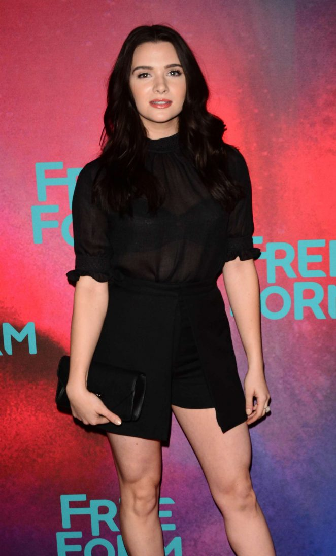 Katie Stevens: 2017 Freeform Upfront -21