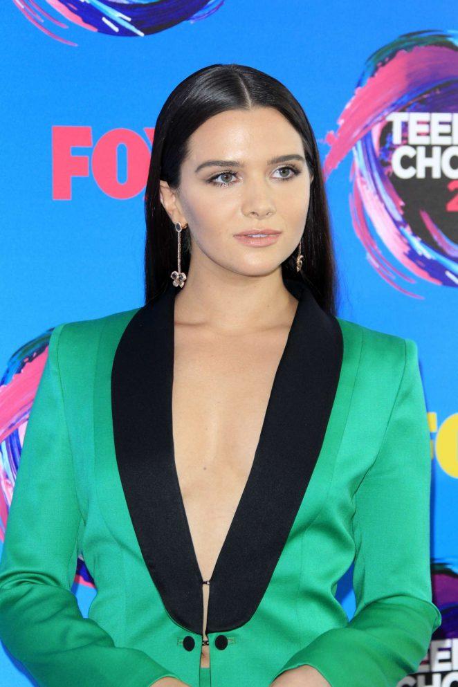 Katie Stevens: 2017 Teen Choice Awards -04 - GotCeleb Megan Fox