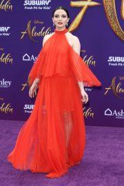 Katie Stevens - 'Aladdin' Premiere in Los Angeles