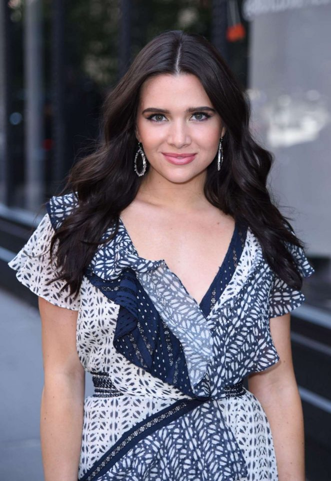 Katie Stevens – Arrives at AOL Build Series in New York