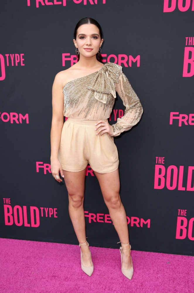 Katie Stevens - 'The Bold Type' TV Show Premiere in New York