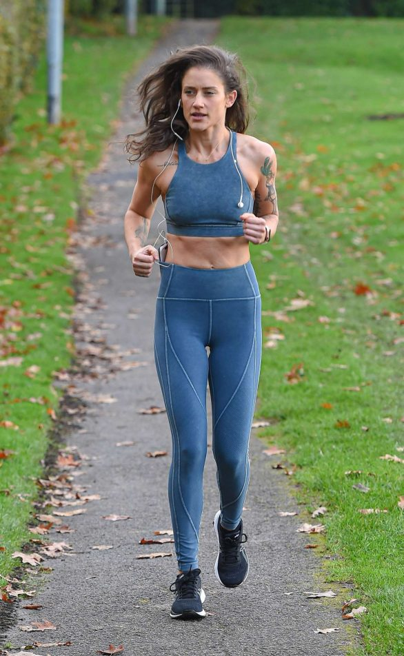 Katie Waissel - Going for an early morning exercise in London