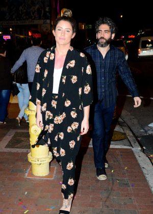 Katie Waissel out in Little Havana, Miami