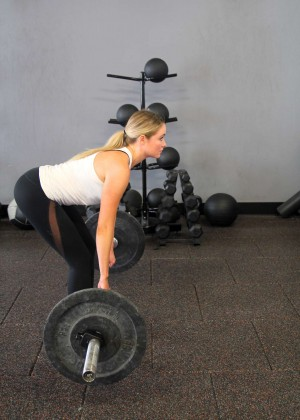Katrina Bowden - Deadlift For Abs and Ass (March 2016)