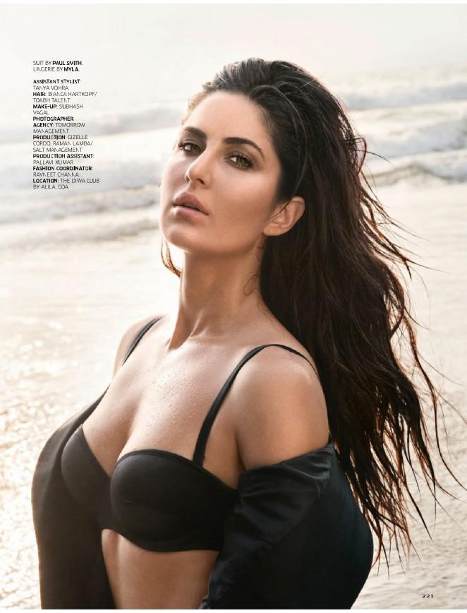 Katrina Kaif - GQ India Magazine (December 2015)