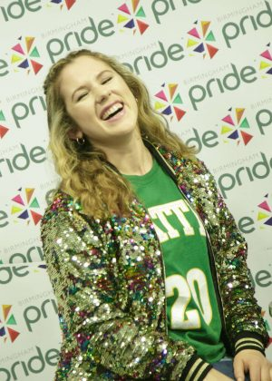 Katy B - Birmingham Pride Parade Interview in Birmingham