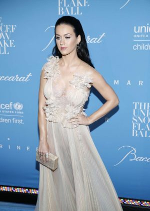 Katy Perry - 2016 UNICEF Snowflake Ball in New York  Katy Perry