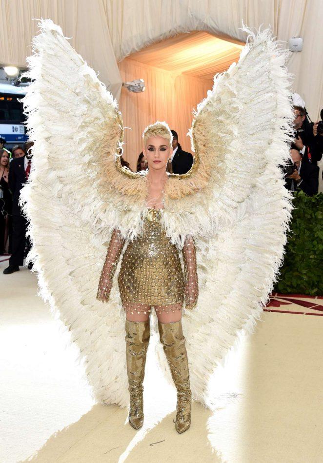 Katy Perry - 2018 MET Gala in NYC