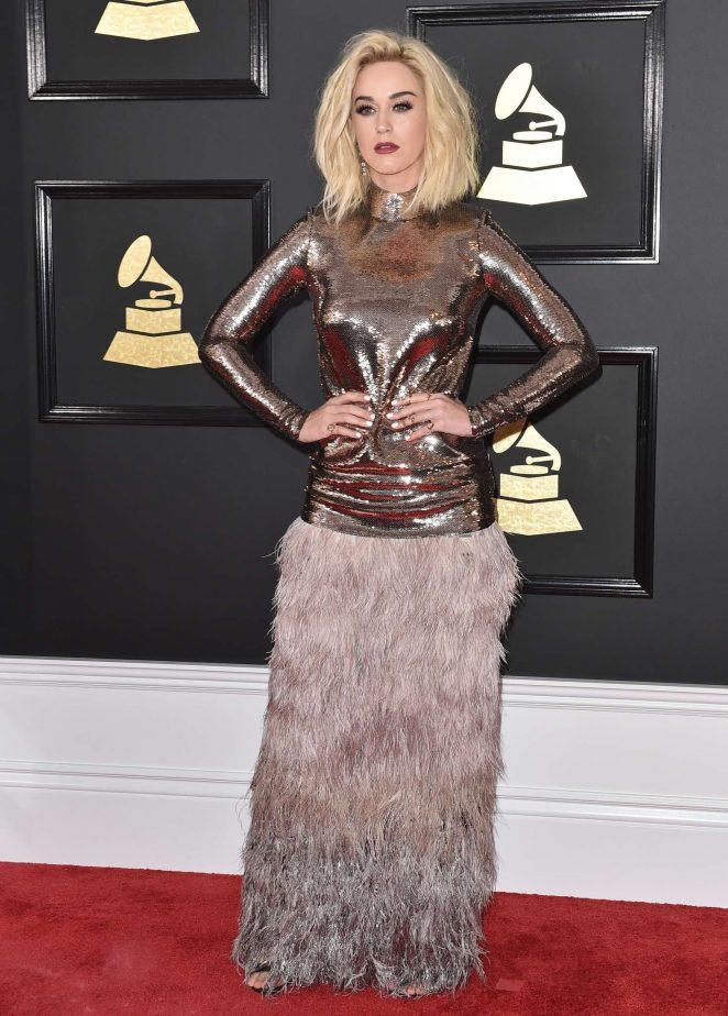 Katy Perry: 59th GRAMMY Awards -03