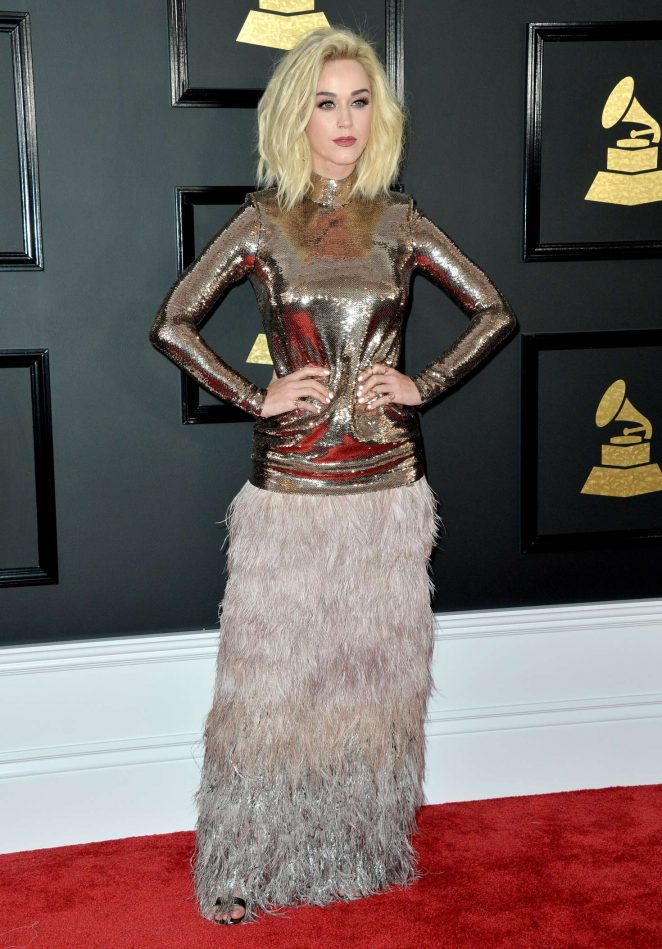 Katy Perry: 59th GRAMMY Awards -13