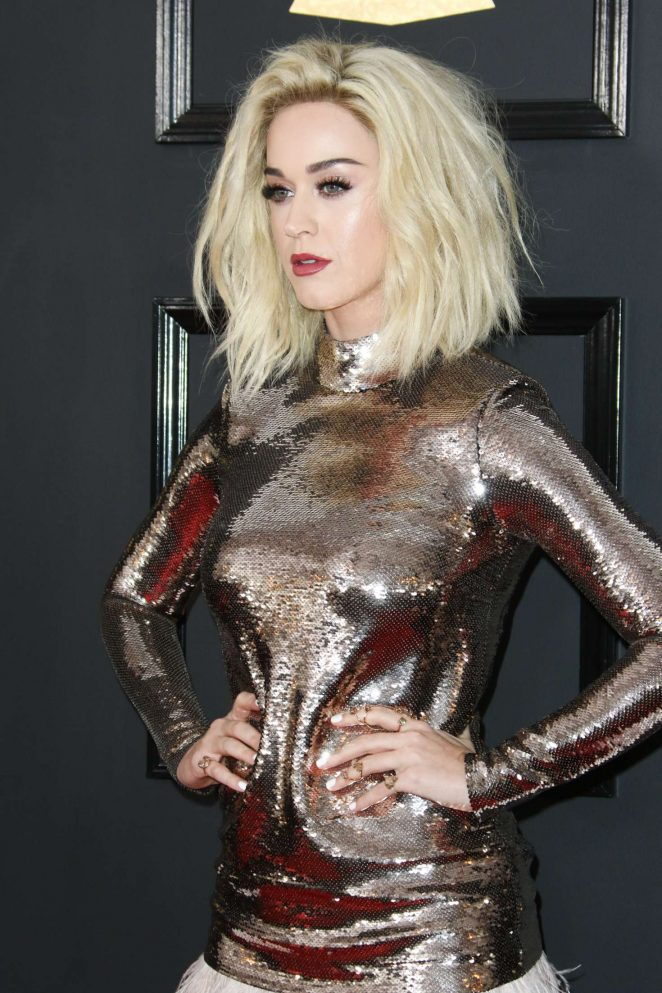 Katy Perry - 59th GRAMMY Awards in Los Angeles