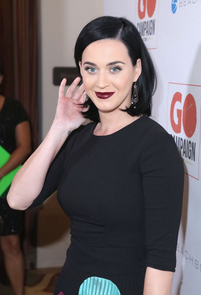Katy Perry – 8th Annual GO Campaign Gala in Beverly Hills