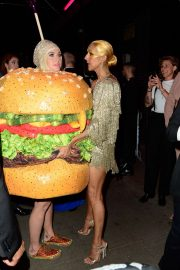 Katy Perry and Celine Dion at the Met Gala After Party in NYC