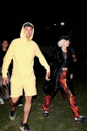 Katy Perry and Orlando Bloom at Coachella Valley Music and Arts Festival in Indio