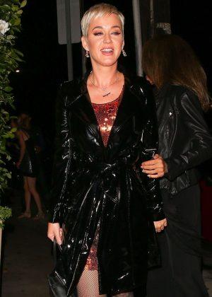 Katy Perry and Orlando Bloom at Giorgio Baldi in Santa Monica