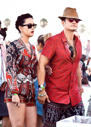 Katy Perry and Orlando Bloom - Coachella 2016 in Indio day 3