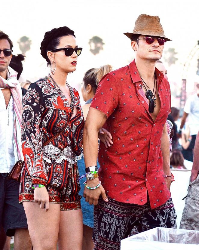 Katy Perry and Orlando Bloom – Coachella 2016 in Indio