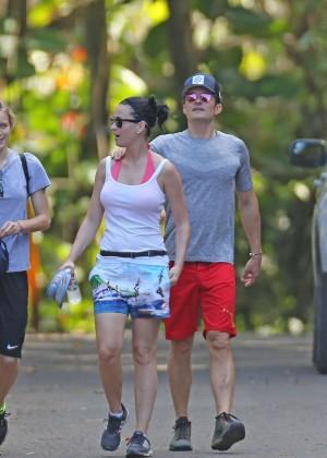 Katy Perry and Orlando Bloom Hiking in Hawaii -17