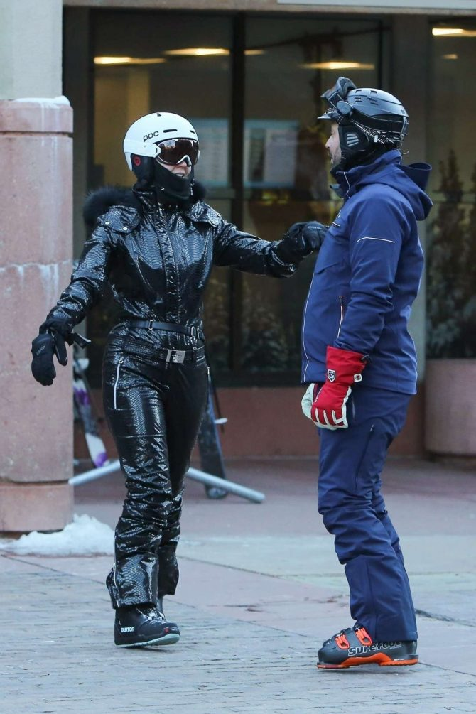 Katy Perry and Orlando Bloom – On the slopes in Aspen