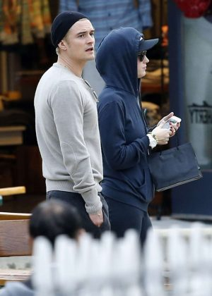 Katy Perry and Orlando Bloom out in Malibu