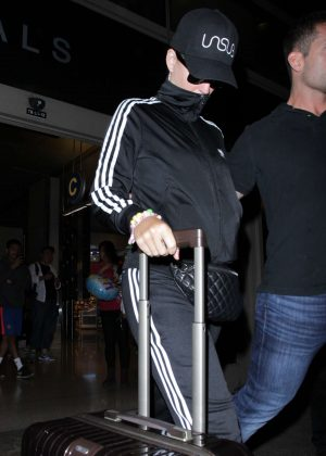 Katy Perry - Arrived at LAX Airport in LA