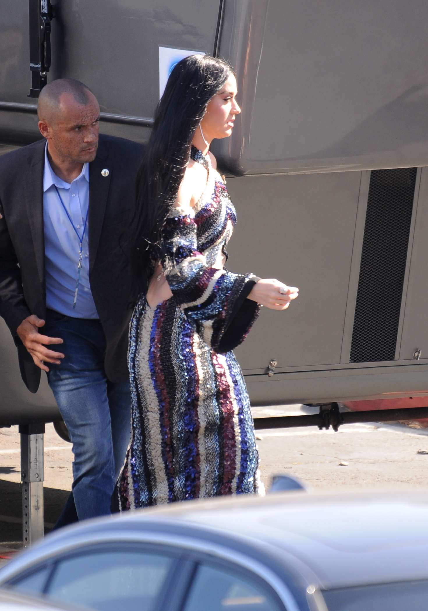 Katy Perry - Arriving at 'American Idol Live' in Los Angeles