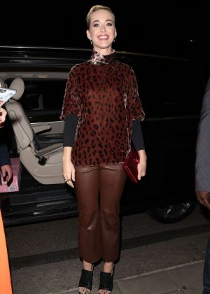 Katy Perry at China Tang restaurant in Mayfair