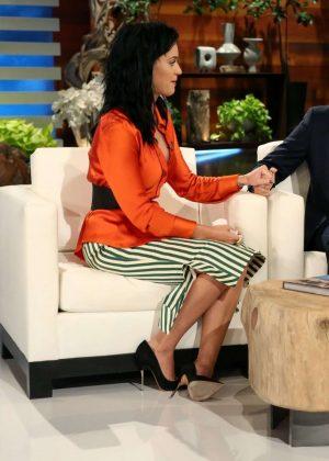 Katy Perry at Ellen Degeneres Show in LA